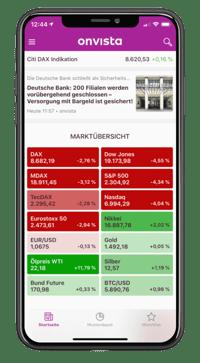 onvista App - iOS
