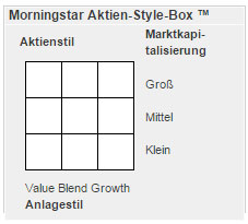 Morningstar Style Box